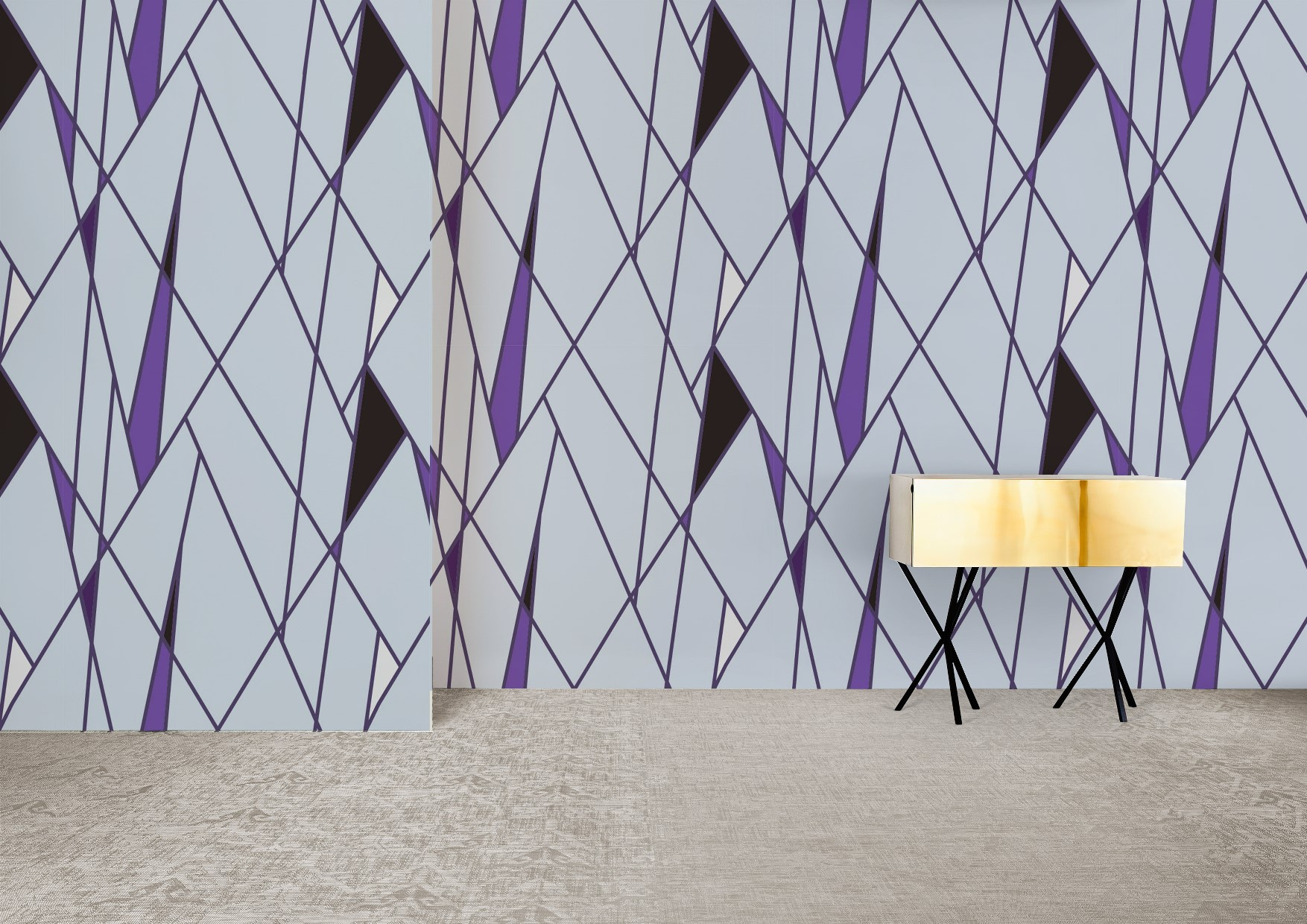Elements collection wallcoverings by INTUITIVE DESIGN