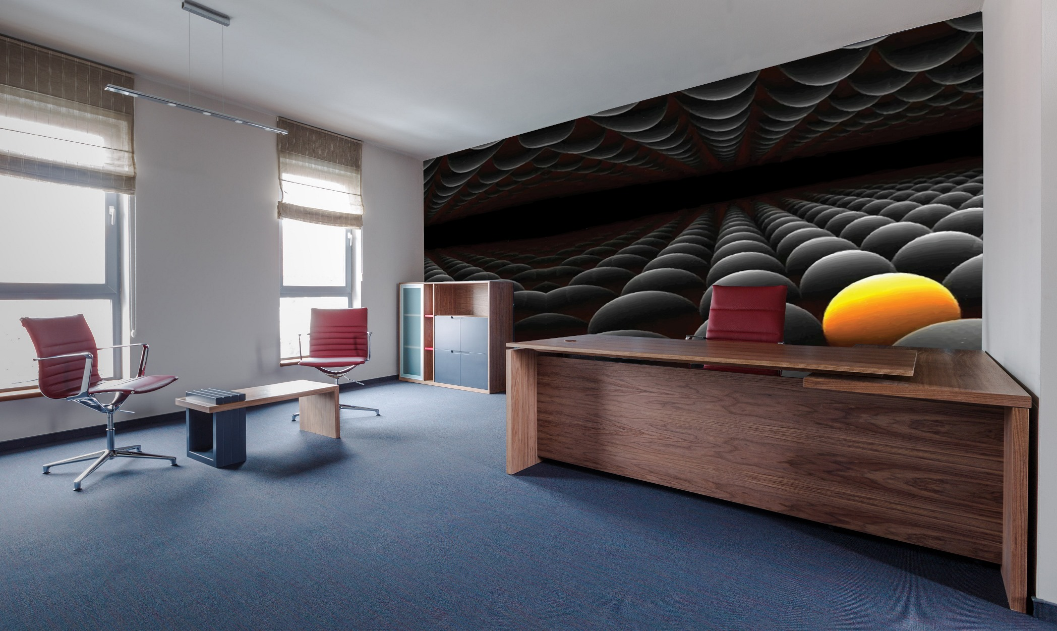 Three Dimensions wallpapers prints collection by INTUITIVE DESIGN