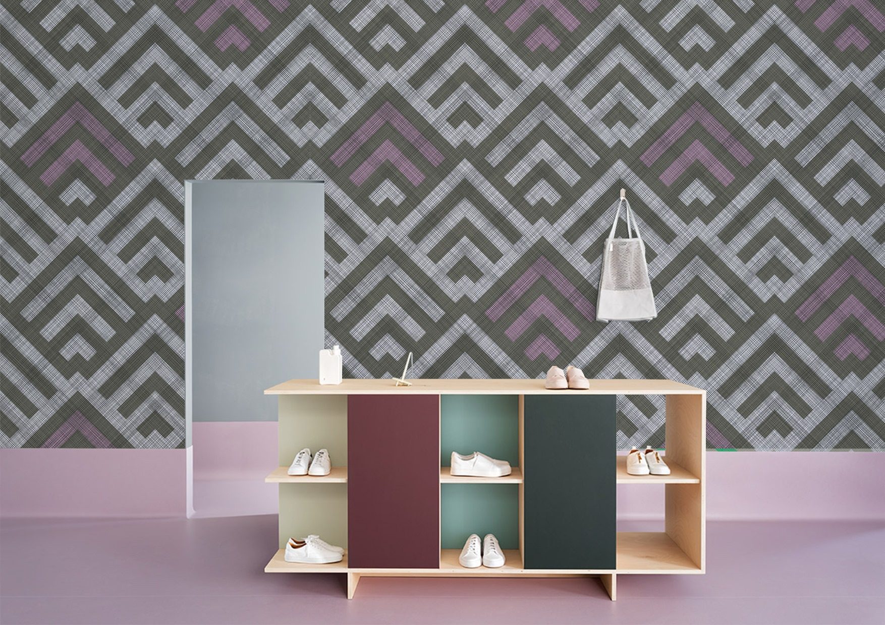Woven collection of wallpapers and wallcoverings