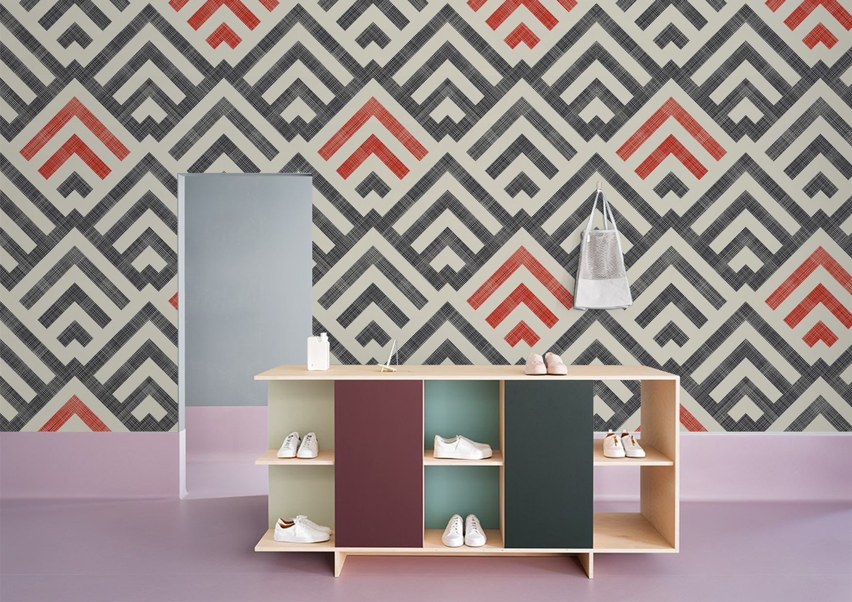Woven collection wallcoverings by INTUITIVE DESIGN