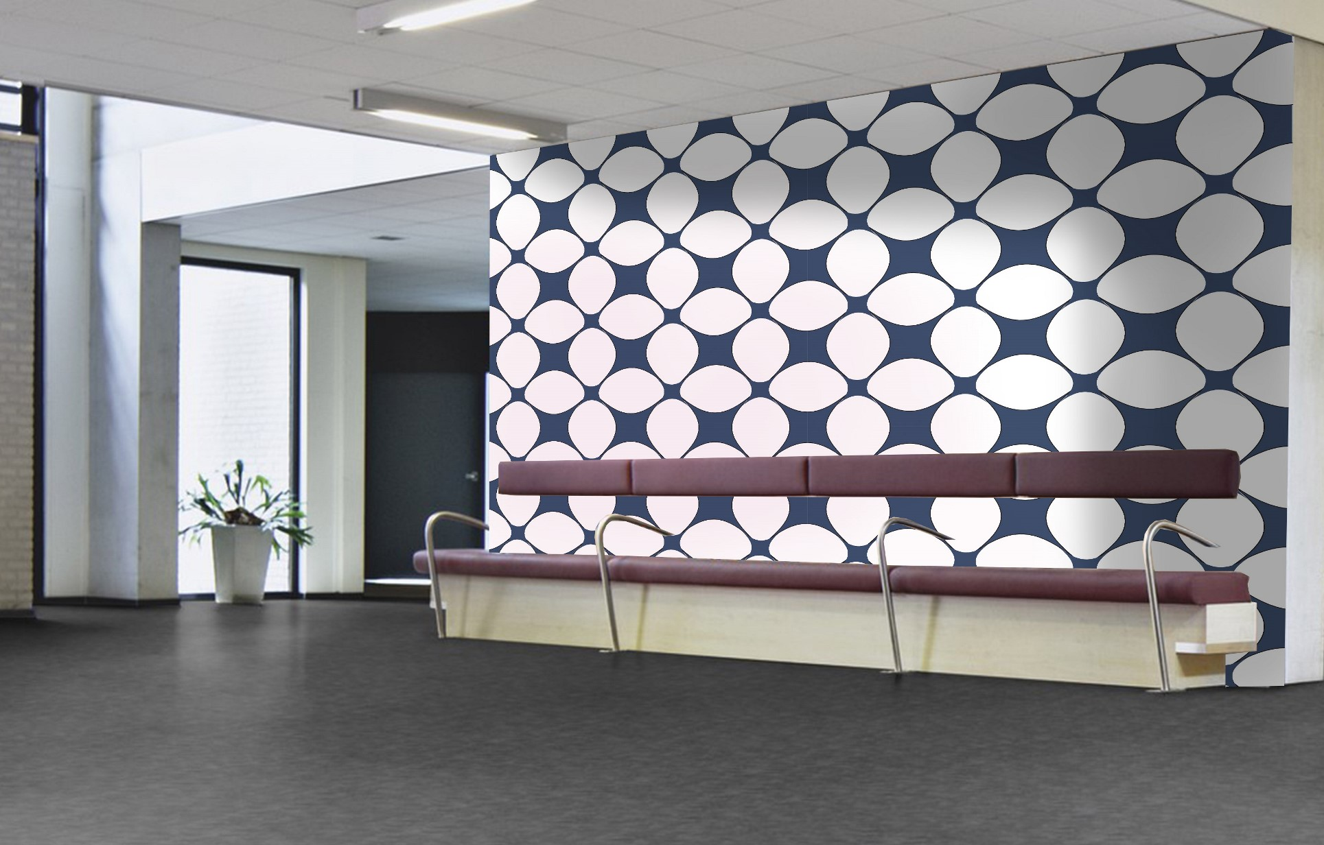 Mosaic collection wallcoverings by INTUITIVE DESIGN