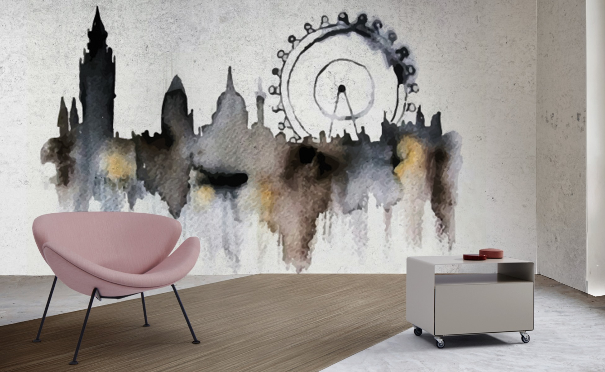 Art wallpapers prints collection by INTUITIVE DESIGN