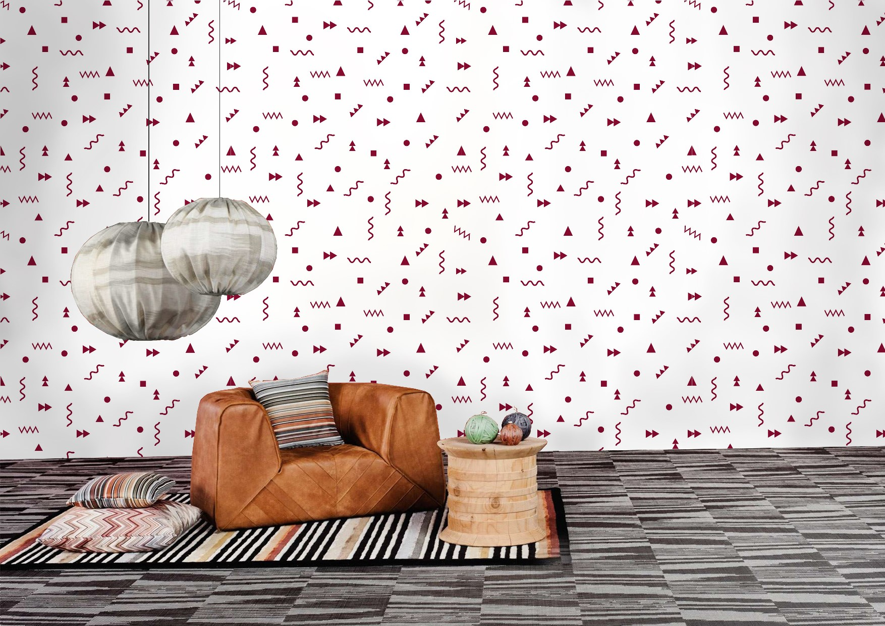 Forever Young collection wallcoverings